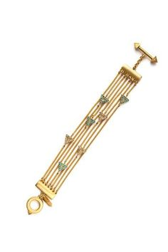 f976ae2677 Wanderluster Selma Flapper Bracelet from New York City — Shoptiques Gold  Chains, Bobby Pins,