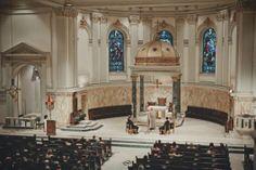Una boda de invierno en Brooklyn - Ceremonia