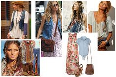 boho chic fashion photos | Boho-chic fashion style