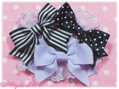 lavender x black or pink x brown