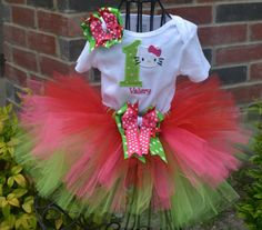 99f896e4dbc HK Tutu Set for Rayne s First Birthday outfit ♥