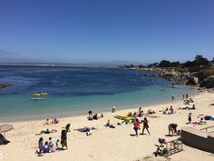 Summer day at Lovers Point in Pacific Grove, CA on the Monterey Peninsula