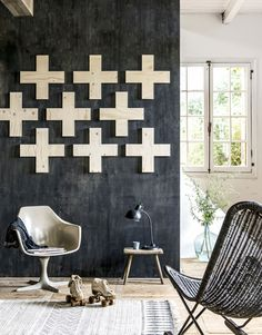 Maak je eigen wanddecoratie | Make your own wall decoration | Photographer Sjoerd Eickmans | Styling Kim van Rossenberg | vtwonen October 2015