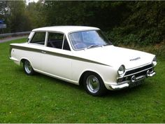 1966 Ford Lotus Cortina Mk. I. Terriffic little corner carver.