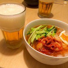 今日はあつかたー! - 16件のもぐもぐ - そうめん冷麺 by hanaruya9041