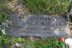 Gilda Radner's grave. The stones and pennies likely after the Jewish tradition of leaving something behind on the grave. Still a bit messy tho, for someone so loved.