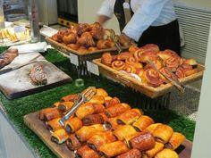 Morning breakfast in Tel Aviv