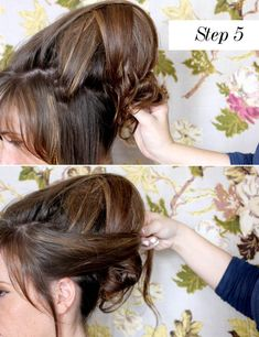 I'm rubbish at hair...which is kind of ironic considering I have a candy pink barnet. However when it comes to styling...yeah I suck.  So today I'm super excited to share an easy tutorial from one of my favourite bloggers Elsie Larson of A Beautiful Mess about how to create a simple and gorgeous beehive hair do.
