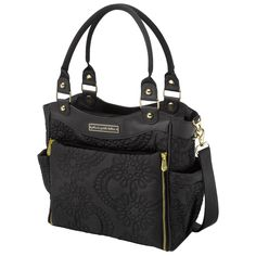 Chic and sleek Diaper Bag. Petunia Pickle Bottom Diaper Bag City Carryall Embossed Central Park North Stop Special Edition @Layla Grayce #PinAtoZ #baby
