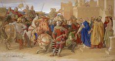 """"""" ... οι πρωτότοκοι, που κληρονομούσαν την πατρική περιουσία, πύκνωναν τις τάξεις των ιπποτών , οι οποίοι περιφέρονταν αναζητώντας την τύχη τους ή συμμετείχαν στις χριστιανικές εκστρατείες... """" (από το σχολικό βιβλίο σελ. 64)"""