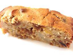 Gâteau aux poires et figues sans gluten.