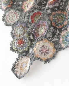 Close-up: Sophie Digard crochet scarf