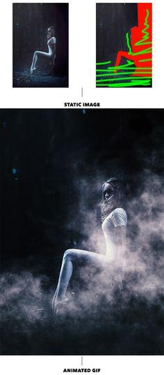 #Gif Animated #Fog Photoshop Action by sreda   #GraphicRiver