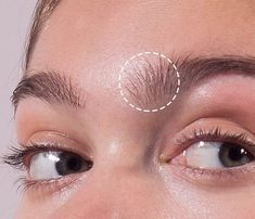 These are called sprouts. Use to brush them straight upward to keep your brows looking youthful and awake rather than shellacking them sideways like they got tired and needed to lay down here is wearing blond Beauty Art, My Beauty, Beauty Secrets, Hair Beauty, Beauty Tips, Bad Eyebrows, Thick Eyebrows, Makeup Trends, Beauty Trends