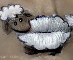 cool and easy animal lip art - Google Search