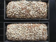 EKSTRA GROVT GLUTENFRITT HAVREBRØD – Glutenfrihet Bread, Baking, Bakken, Breads, Backen, Postres, Sandwich Loaf, Pastries, Roast