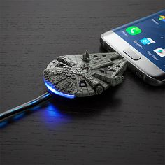 Tiny Han Solo is one hell of a pilot. He can dock the Millennium Falcon's Micro-USB with your smartphone every single time. Okay, maybe there's that one time he tried to dock upside down. Okay, …