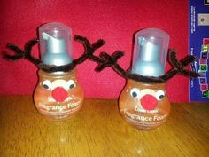 Reindeer out of Hand Sanitizers. Place Your Order Today at: http://BernadetteWard.Scentsy.US Follow Me on FaceBook at: My Scentsy Family Business