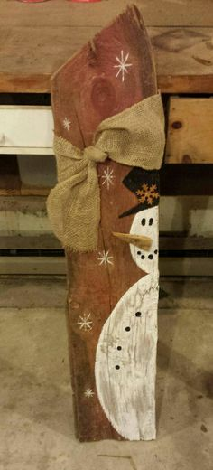 36 inch high reclaimed barn wood snowman veranda welcome. Color, width and knot with … wood snowman welcome 36 inch high reclaimed barn wood snowman veranda welcome. Color, width and knots with … Christmas Signs, Rustic Christmas, Christmas Art, Christmas Projects, Christmas Decorations, Christmas Ornaments, Christmas Porch, Christmas Ideas, Wood Snowman