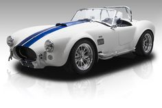 1965 Shelby Superformance Cobra White For Sale