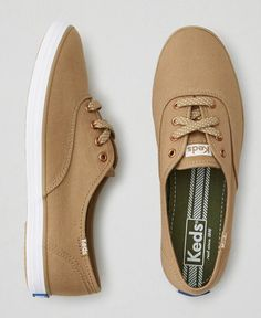 i used to wear KEDS during my teenage years and  i can still remember what color and style i got-THIS ONE! ohhh how i missed my classic brown KEDS. planning to have one soon.❤️ gladdy How To Wear Keds, Olive Green Shoes, Brown Sneakers, Women's Sneakers, Everyday Shoes, Sock Shoes, Keds Shoes Outfit, Shoe Boots, Women's Shoes