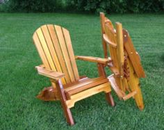 folding adirondack chairs plans projects Pinterest