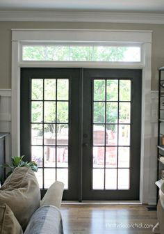 The Curse of the Back Door | Thrifty Decor Chick | Bloglovin'