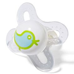MAM pacifier... our clients recommended these!