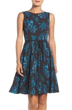 Adrianna Papell Fit & Flare Dress available at #Nordstrom