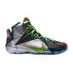 "Nike LeBron XII ""Trillion Dollar Man"" Basketball Shoe"