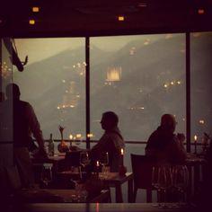 Restaurant Suedtirol mit Aussicht. Merano Miramonti Boutique Hotel, Small Luxury Hotels, Restaurant, World, Places, Restaurants, The World, Supper Club, Dining Room