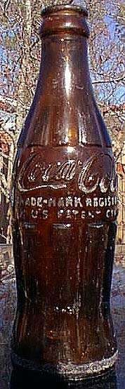 Amber colores Hobbleskirt bottles.