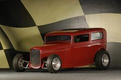 Wooden Toy Trucks, Old Hot Rods, Traditional Hot Rod, Vintage Race Car, Woodworking Workshop, Us Cars, Custom Vans, Hot Wheels, Cool Cars