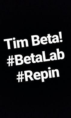 Tim Beta! Beta Lab, Repin! Ajuda!!!!!!