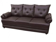 Second Hand Brown Leather Couches For Sale