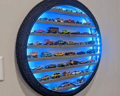Hot Wheels Storage, Hot Wheels Display, Boy Room, Kids Room, Display Shelves, Display Wall, Diy Home Decor, Room Decor, Handmade Home Decor