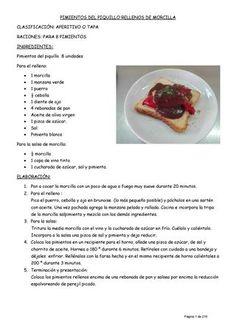 Recetario  Recetas de cocina. Curso 2016-2017. Centro San Jorge. Palencia