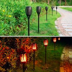 Outdoor Solar Flame Light Torch – World Hope Outlet