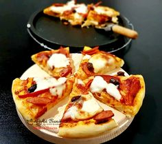 Croissant, Hawaiian Pizza, Mozzarella, Vegetable Pizza, Waffles, Deserts, Food And Drink, Vegetables, Cooking
