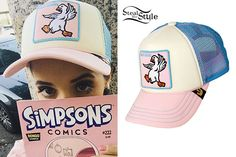 Melanie Martinez: Pastel Goose Hat Melanie Martinez Style, Simpsons, Cry Baby, Celebrity Crush, Her Style, Fashion Beauty, Singer, Celebrities, Hats