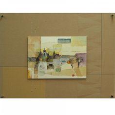 土田佳代子 ゆらさらパネルアート 「街(ロワール)」 97650yen 土田佳代子・・New パネルアート