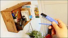 壁を傷つけずにホッチキスで本棚・収納ラック・テレビなどが壁に設置できる「壁美人」を使ってみました - GIGAZINE