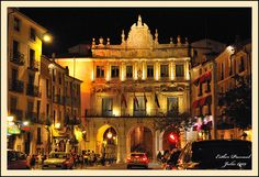 Arcos de la Plaza Mayor de Cuenca