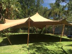 15m x 10m Sand Bedouin Stretch Tent