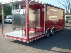 Bbq 8 5 X 25 Smoker Trailer W Porch Trailer For Sale At