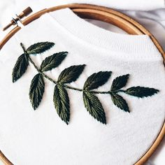 [New] The 10 Best Home Decor Ideas Today (with Pictures) - My best idea and bestseller I'm ready to embroider it forever Hand embroidery t-shirt cotton Buy in my etsy shop link in bio Hand Embroidery Patterns Flowers, Basic Embroidery Stitches, Hand Work Embroidery, Embroidery On Clothes, Simple Embroidery, Shirt Embroidery, Embroidery Hoop Art, Hand Embroidery Designs, Embroidery Techniques