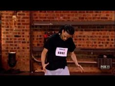 SYTYCD S09E01 - Hampton Williams 'Exorcist Style' (Full Audition) So You Think You Can Dance audition May/12;simply Amazing!!