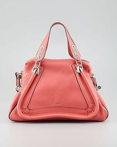 NWT Chloe Paraty Medium Military Shoulder Bag $2295 100% AUTHENTIC