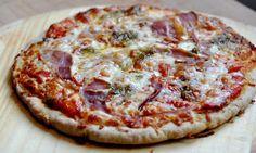 Recette sans gluten: pâte à pizza en 30 minutes | LE BONHEUR EST SANS GLUTEN