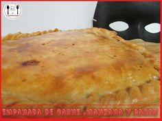 EMPANADA DE CARNE. MANZANA Y PASAS -- VÍDEO DE LA RECETA: https://www.youtube.com/watch?v=CjE8o-DR5WY --  El Robarecetas es tú canal de cocina!!! Hasta luego Robarecetillas!!! /// ENGLISH: MEAT PIE. APPLE AND RAISINS - RECIPE VIDEO: https://www.youtube.com/watch?v=CjE8o-DR5WY - Robarecetas is your kitchen channel !!! See you later Robarecetillas !!!